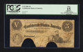 Confederate Notes:1861 Issues, T32 $5 1861 PF-2 Cr. 249 COC.. ...
