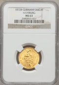 German States:Hamburg, German States: Hamburg. Free City gold Ducat 1872-B, ...