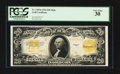 Large Size:Gold Certificates, Fr. 1187 $20 1922 Mule Gold Certificate PCGS Very Fine 30.. ...