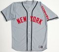 Baseball Collectibles:Uniforms, Tom Glavine Game Worn, Signed Cubans Throwback Jersey....