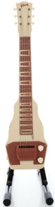 Musical Instruments:Lap Steel Guitars, Late 1940's Gibson BR-9 Tan Lap Steel Guitar....