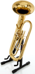 Musical Instruments:Horns & Wind Instruments, Circa 1950's Olds Ambassador Brass Euphonium, Serial #144227....
