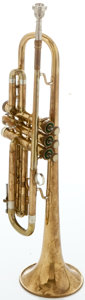 Musical Instruments:Horns & Wind Instruments, Circa 1950's Olds Ambassador Brass Trumpet, Serial #199153....