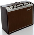 Musical Instruments:Amplifiers, PA, & Effects, Circa 1963 Gibson Invader Brown Guitar Amplifier, Serial#480411....