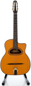 Musical Instruments:Acoustic Guitars, Gitane D-500 Natural Acoustic Guitar, Serial #3460....