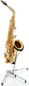 Musical Instruments:Horns & Wind Instruments, Yamaha YAS-475 Brass Alto Saxophone, Serial #216669....