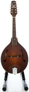 Musical Instruments:Banjos, Mandolins, & Ukes, Kentucky KM-250S Brown Mandolin, Serial #13909....