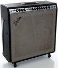 Musical Instruments:Amplifiers, PA, & Effects, 1970's Fender Super Reverb Silverface Guitar Amplifier, Serial#A764579....