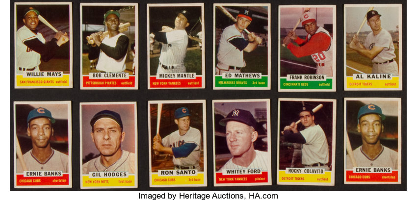 1962 Bazooka Baseball Individual Cards Collection 26 Lot