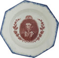 Political:3D & Other Display (pre-1896), Andrew Jackson: Fantastic Octagonal Plate....