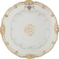 Political:3D & Other Display (pre-1896), James K. Polk: White House Dinner Plate....