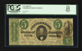 Confederate Notes:1861 Issues, T33 $5 1861 PF-7 Cr. 254B.. ...