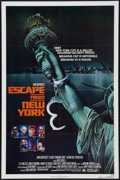"""Movie Posters:Science Fiction, Escape from New York (Avco Embassy, 1981). One Sheet (27"""" X 41"""")Advance. Science Fiction.. ..."""