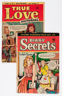 Matt Baker Romance Comics Group (St. John, 1953-54) Condition: GD.... (Total: 2 Comic Books)
