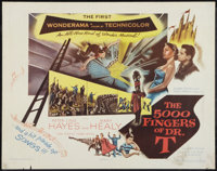 """The 5000 Fingers of Dr. T (Columbia, 1953). Half Sheet (22"""" X 28""""). Fantasy"""