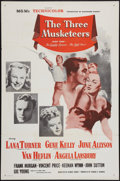 "Movie Posters:Swashbuckler, The Three Musketeers (MGM, R-1954). One Sheet (27"" X 41""). Swashbuckler.. ..."