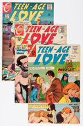 Silver Age (1956-1969):Romance, Teen-Age Love Group (Charlton Publications, 1966-73) Condition: Average VF+.... (Total: 36 Comic Books)