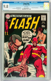 The Flash #191 Twin Cities pedigree (DC, 1969) CGC NM/MT 9.8 White pages