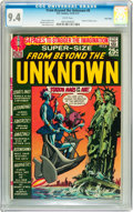 Bronze Age (1970-1979):Science Fiction, From Beyond the Unknown #8 Twin Cities pedigree (DC, 1970) CGC NM 9.4 White pages....