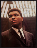 Boxing Collectibles:Autographs, 1979 Muhammad Ali Signed Photograph....