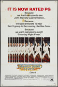 "Movie Posters:Drama, Saturday Night Fever (Paramount, 1977). One Sheet (27"" X 41"") ""PG"" Style. Drama.. ..."