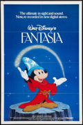 "Movie Posters:Animation, Fantasia (Buena Vista, R-1982). One Sheet (27"" X 41""). Animation.. ..."