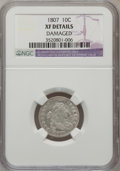 Early Dimes, 1807 10C --Damaged--NGC Details. XF. NGC Census: (8/157). PCGSPopulation (21/172). Mintage: 165,000. Numismedia Wsl. Price ...