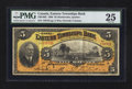 World Paper Money: , Sherbrooke, PQ- Eastern Townships Bank $5 Jan. 2, 1906 Ch. #230-16-02. ...