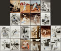 Baseball Collectibles:Photos, Brooklyn Dodgers Greats Signed and Unsigned Photographs Lot of 20....