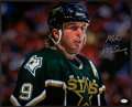 Hockey Collectibles:Photos, Mike Modano Signed Oversized Photograph....