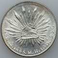 Mexico, Mexico: Lot of Nine Cap and Ray 8 Reales from Various Mints,...(Total: 9 coins)