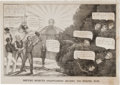 Political:Small Paper (pre-1896), Henry Clay: The Rising Sun of Kentucky Cartoon....