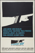 "Movie Posters:War, In Harm's Way (Paramount, 1965). One Sheet (27"" X 41""). War.. ..."