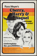 "Movie Posters:Sexploitation, Cherry, Harry & Raquel (Eve Productions, 1970). One Sheet (27""X 41""). Flat Folded. Sexploitation.. ..."
