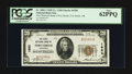 National Bank Notes:Arkansas, Fort Smith, AR - $20 1929 Ty. 1 The First NB Ch. # 1950. ...