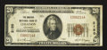 National Bank Notes:Kentucky, Lebanon, KY - $20 1929 Ty. 1 The Marion NB Ch. # 2150. ...