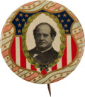 Political:Pinback Buttons (1896-present), William Jennings Bryan: Pastel Beauty....