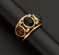 Estate Jewelry:Rings, Scarab Gold Ring. ...