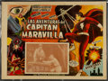 Memorabilia:Movie-Related, Adventures of Captain Marvel Movie Serial Lobby Card (c. 1941)....