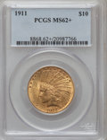 Indian Eagles: , 1911 $10 MS62+ PCGS. PCGS Population (2327/2036). NGC Census:(2901/2537). Mintage: 505,595. Numismedia Wsl. Price for prob...