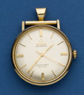 Timepieces:Pendant , Omega Automatic Seamaster DeVille Pendant Watch. ...