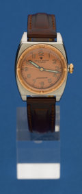 Timepieces:Wristwatch, Rolex Reference 3359 Steel & Pink Gold Viceroy Wristwatch. ...