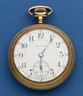 Timepieces:Pocket (post 1900), Elgin 18 Size 21 Jewel Veritas Pocket Watch. ...