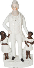 Political:3D & Other Display (pre-1896), John Brown: Full Standing Staffordshire Figurine....