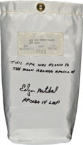 Transportation:Space Exploration, Apollo 14 Flown Pilot's Preference Kit (PPK) Directly from the Personal Collection of Mission Lunar Module Pilot Edgar Mitchel...