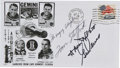 Autographs:Celebrities, Gemini 9A Crew-Signed Launch Cover with Remarks....