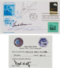 Autographs:Celebrities, Apollo 8 Crew-Signed First Day Cover Originally from the Personal Collection of Astronaut Paul Weitz, Signed and Certified, wi...