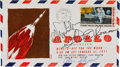 Autographs:Celebrities, Apollo 14 Crew-Signed Launch Cover. ...