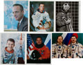 Autographs:Celebrities, Astronaut and Cosmonaut Signed Photos.... (Total: 6 Items)