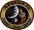 Transportation:Space Exploration, Apollo 14 Flown Embroidered Mission Insignia Patch Directly from the Personal Collection of Mission Lunar Module Pilot Edgar M...